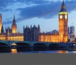 Living and studying in London