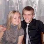 Dmitriy et Maria, deux étudiants de Russie en résidence à Londres
