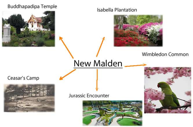 New Malden Mind map