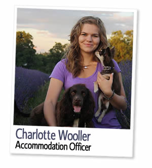 Charlotte Wooller, Agent d'hébergement à London Homestays