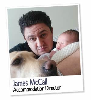 James McCall, Directeur des hébergements et co-fondateur de London Homestays