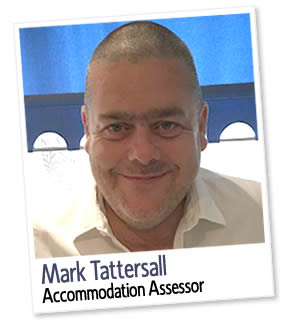Mark Tattersall, Assesseur d'hébergement à London Homestays