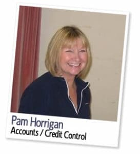 Pam Horrigan, Accounts & Credit Control at London Homestays
