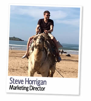 Steve Horrigan, Directeur marketing et co-fondateur de London Homestays