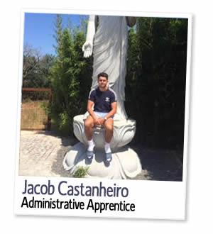Jacob Castanheiro, Administrative Apprentice at London Homestays