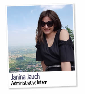 Janina Jauch, Administrative Intern at London Homestays