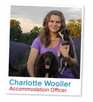 Charlotte Wooller, Accommodation Officer at London Homestays