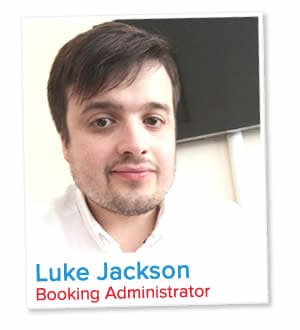 Luke Jackson, Booking Administrator at London Homestays