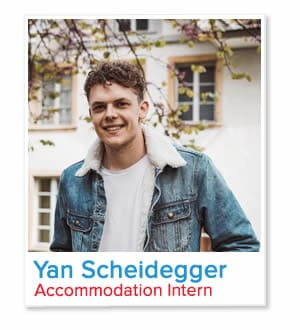 Yan Scheidegger, Accommodation Intern at London Homestays